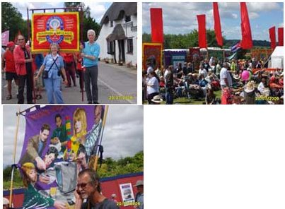 Images from Tolpuddle Martyrs Festival, Dorset